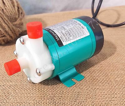 """Food Grade High Temperature Magnetic Drive Pump 10R with 1/2"""" BSP Home Brew"""