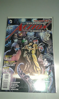 Superman Action Comics Issue 15 New 52