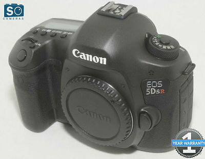 Canon EOS 5DS R 50.6 MP Digital SLR Camera - Black (Body Only) from Jessops**
