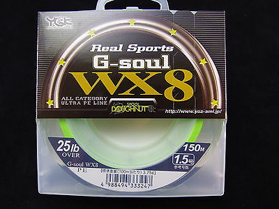 YGK - Real Sports G-SOUL WX8 150m 25lb OVER #1.5