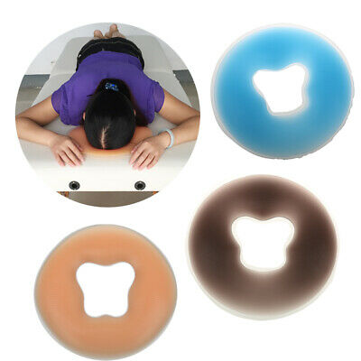 Salon SPA Back Neck Massage Silicon Face Head Relaxing Cradle Cushion Pillow Pad