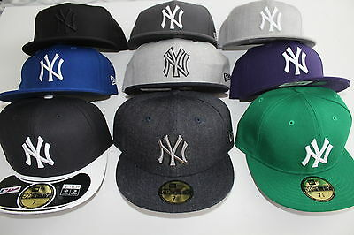 New York Yankees Cap Blau Grau