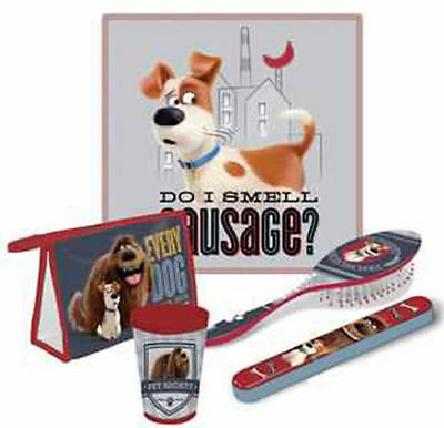 Boys 5 Piece Secret life of Pets Travel Set  Ideal for Holidays Great Gift