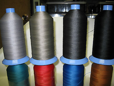 Sewing Thread, Polyester, M20 lubricated, strong, Bonded. Large 3000m cones.