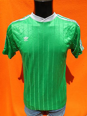 ADIDAS Jersey Maillot Camiseta True Vintage Trefoil Made in USA Old School S