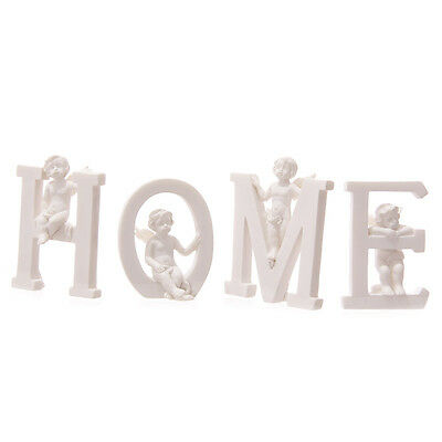 Home Letters With Cherubs - Gift - Home Decor - Ornament - Figurine - Angels