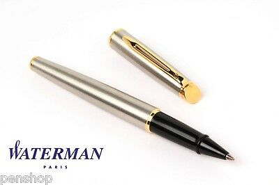 Waterman Hemisphere Mars Steel Gt Rollerball Pen New Discontinued Model