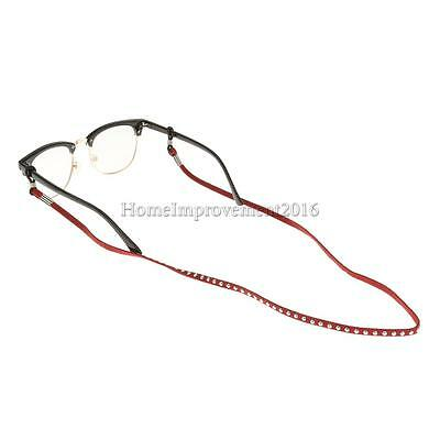 Sports Comfort Sunglasses Long Suede Lanyard Strap String