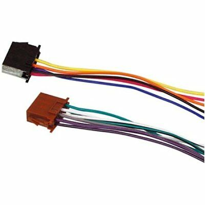 HQ ISO-STANDARD cable adaptateur ISO pour autoradio