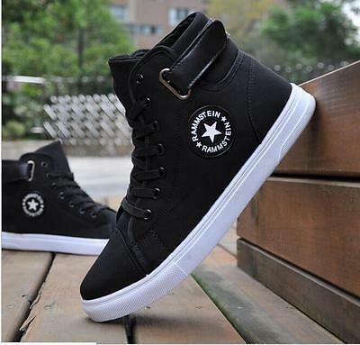 New Fashion 2016 Men's Casual High Top Sport Sneakers Athletic Running Shoes