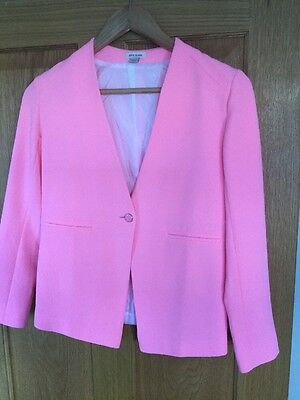 Bright Pink Girls River Island Jacket For Age 11/new Without Tags