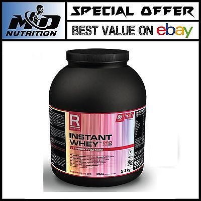 Reflex Nutrition Instant Whey PRO - 2.2kg - ALL FLAVOURS + FREE SHAKER!!