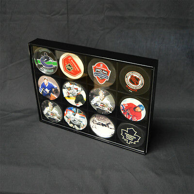 "Hockey Puck Display Multi Case 9.75"" x 13"" x 1.75""H"
