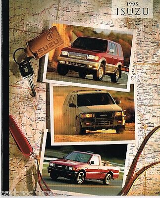 1995 ISUZU Brochure/Catalog: TROOPER, PickUp Truck, RODEO, 4WD Pick Up, Limited,