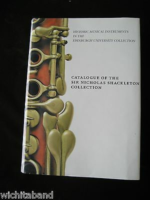 Color Hardbound Catalog Of The Shackleton Clarinet Collection.