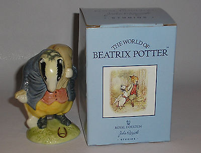 Beswick / Royal Doulton.  Tommy Brock. Part of Beatrix Potter Series. With Box.
