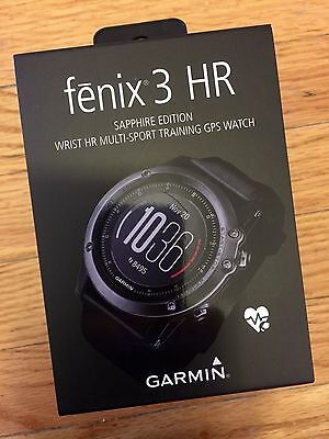 *NEW* Garmin Fenix 3 HR Grey GPS Heart Rate Monitor Sport Watch - 2016 Model
