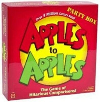 Apples to Apples Party Game Board Game NEW