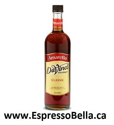 DaVinci Gourmet Ameretto Flavoured Syrup - 750mL