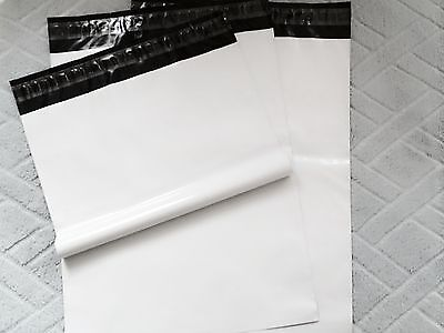 "10pcs #6 white poly mailer plastic shipping bag 12"" x 16"" * 2.5MIL best quality*"