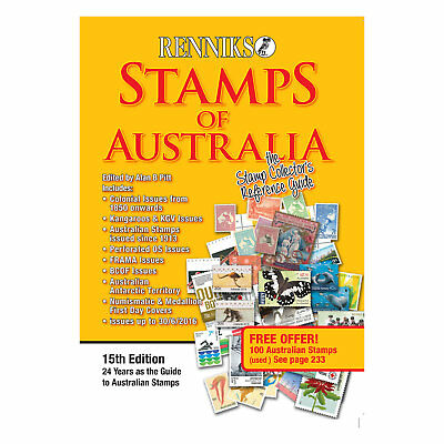 Renniks Stamps of Australia - 15th Edition - NEW EDITION - FULL COLOUR