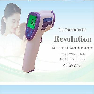 2016 New Handheld LCD Thermometer Gun Non-Contact Body IR Infrared Digital Laser