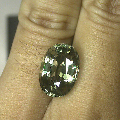 9ct. MASTERPIECE GIA CERTIFIED NATURAL HUGE STUNNING COLOR CHANGE DIASPORE !!