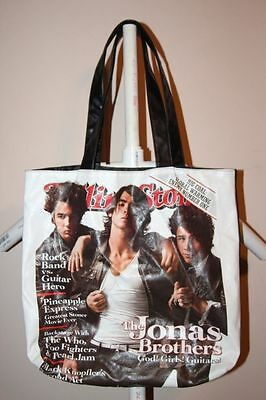 Rolling Stone Originals Jonas Brothers Cover Tote Bag