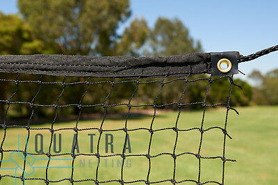 Cricket Practice Net / Sports Barrier Netting  3m x 30m with Tie Rope & Edging
