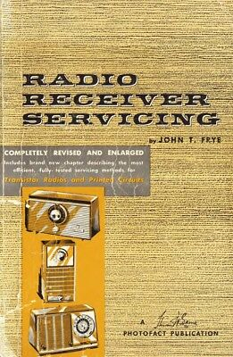 Radio Receiver Servicing (1959) - Vintage Service Info - CD