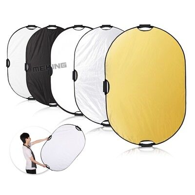 """Selens 24x36"""" 5in1 Light Mulit Collapsible Portable Reflector Disc Panel 60x90cm"""