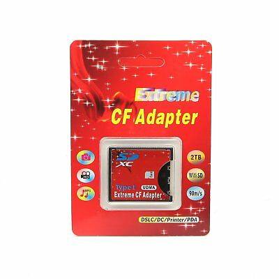 WiFi SDHC/SDXC/SD 3.0 To Compact Flash Memory CF Type I Card Reader Adapter UDMA