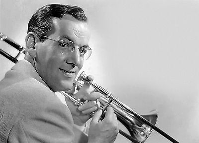 Glenn Miller American Orchestra Bandleader 10x8 Glossy Music Photo Print Picture