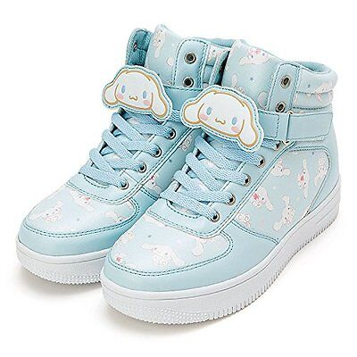 Sanrio Cinnamoroll High-Cut Sneakers with Character Clip L Size 848000 New