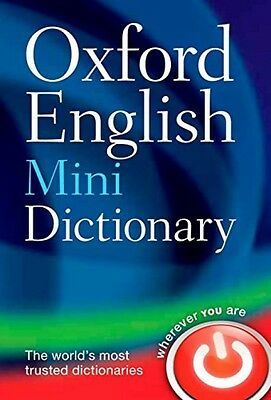 Oxford English Mini Dictionary Paperback Book New School Kids 2013