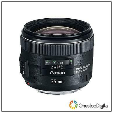 Canon EF 35mm f/2 IS USM Lens Brand New