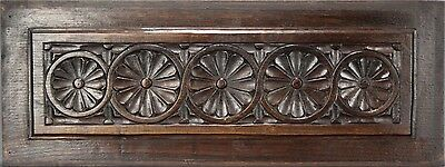 French Antique  Architectural Wood Panel French Country