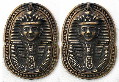 Set of 2 Solid Brass Egyptian Style Pulls