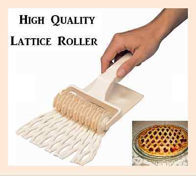 Lattice Roller / Lattice Cutter / High Quality Pastry cutter / Uk Seller