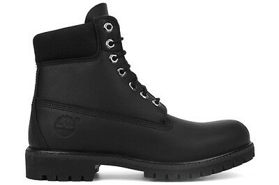 Timberland 6-Inch Premium 10054 Men's Black Lifestyle Waterproof Leather Boots