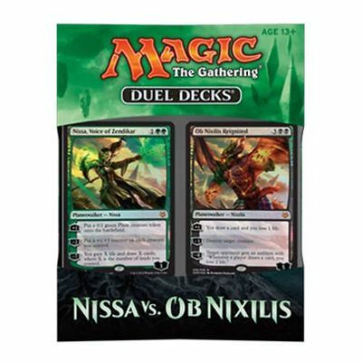 DUEL DECKS: Nissa Vs Ob Nixilis ENG Mtg Magic the gathering