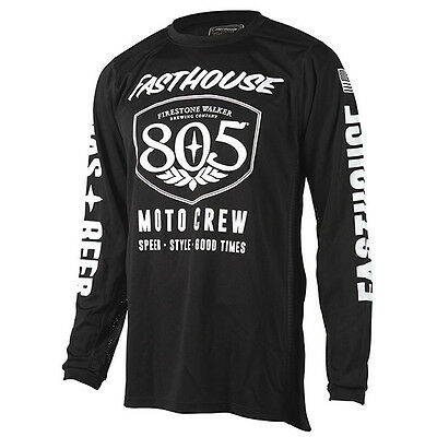 New FASTHOUSE 805 Brew Beer Sheild Motocross Air Jersey All Sizes S M L XL 2X 3X