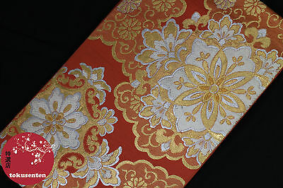 Kimono Yukata Obi Japanese Genuine Ceinture Japonaise Silk Soie Antique Japan