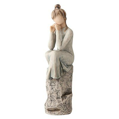 Demdaco Willow Tree Susan Lordi Patience Love is Patient Love is Kind Figurine