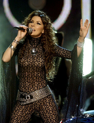 Shania Twain UNSIGNED photo - F675 - SEXY!!!!!