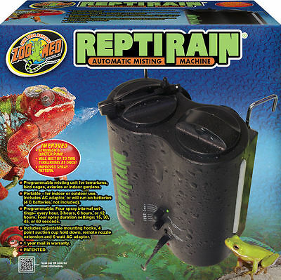 Zoo Med ReptiRain Dual Nozzle Rain / mist system for frog terraria
