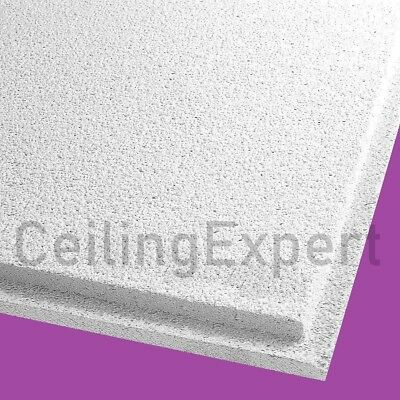 Suspended Ceiling Tiles Like Dune Tegular edge 595 x 595mm Acoustic Sandtone Teg
