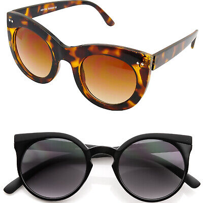 Occhiali da sole KISS® CAT EYE mod. ROUND stile Rihanna tondi DONNA cool vintage