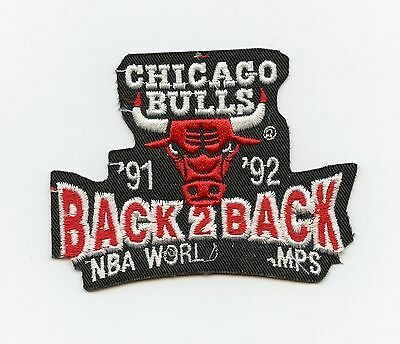 1992 Chicago Bulls NBA World Champs Crest/Patch HTF Proof/Sample
