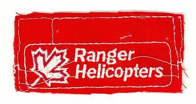 Ranger Helicopters HTF Vintage Canada Helicopter Uniform Patch Proof